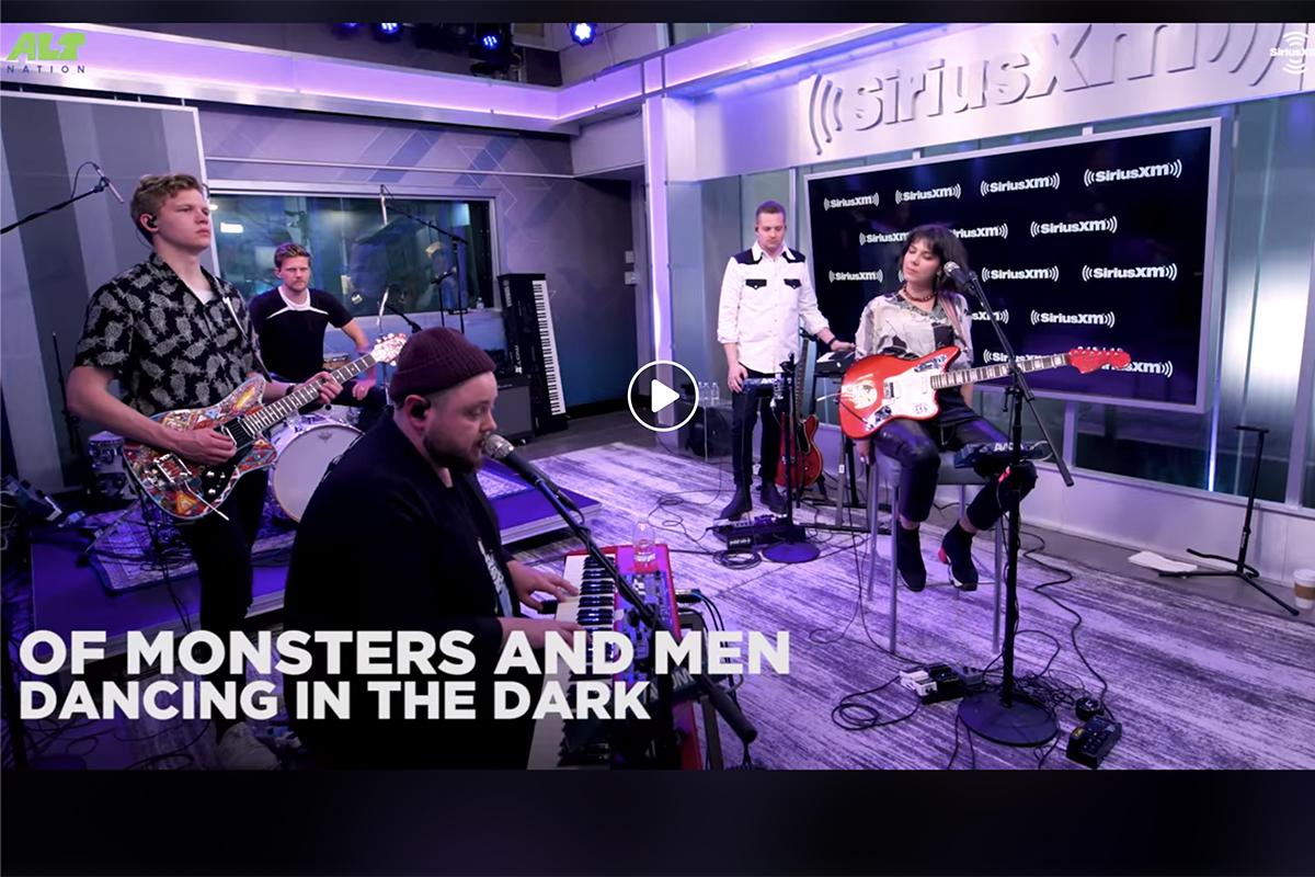 "Of Monsters and Men negla ""Dancing in the Dark"""