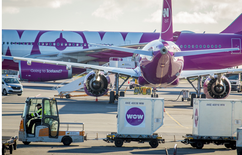 Sætanýting WOW air í mars var 93%